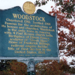 Famous Woodstock Sign
