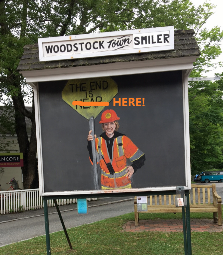 Woodstock Paving Project's End of Project Survey